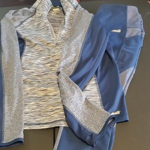 Avia suit Large shirt Med pants ladies